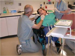 Dr. Sigal providing care