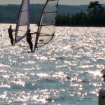 Dr. Sigal windsurfing