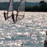 Dr. Sigal windsurfing
